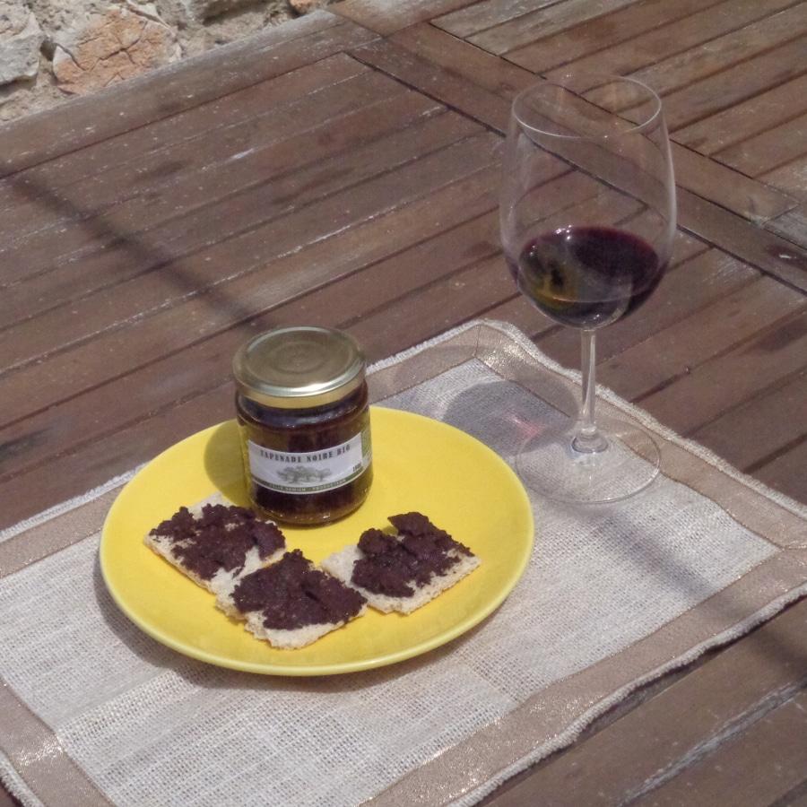 Tapenade d'olives noires AOC Nyons, BIO