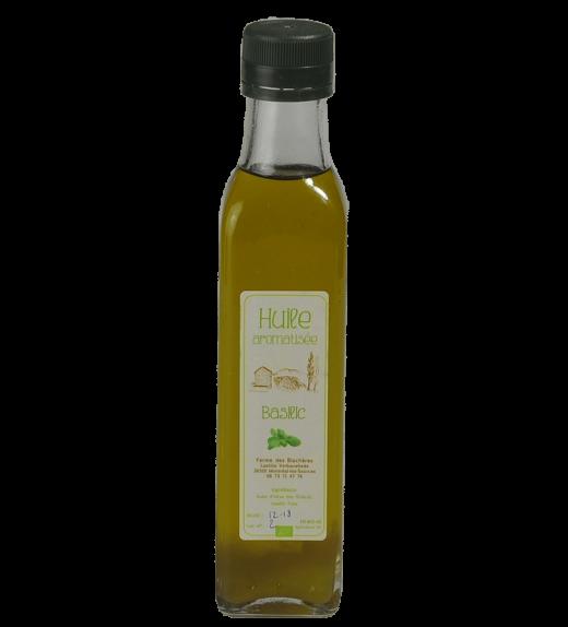 huile basilic